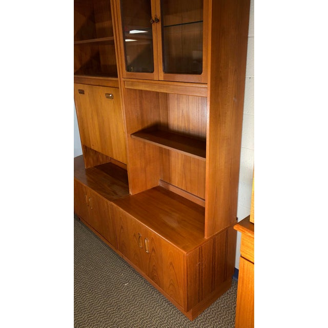 Mid Century Teak Modular Wall Unit by G Plan For Sale - Image 9 of 13
