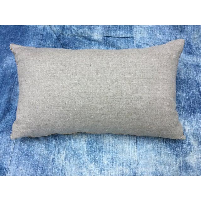 Art Deco-Style Tribal Velvet Pillow - Image 7 of 7