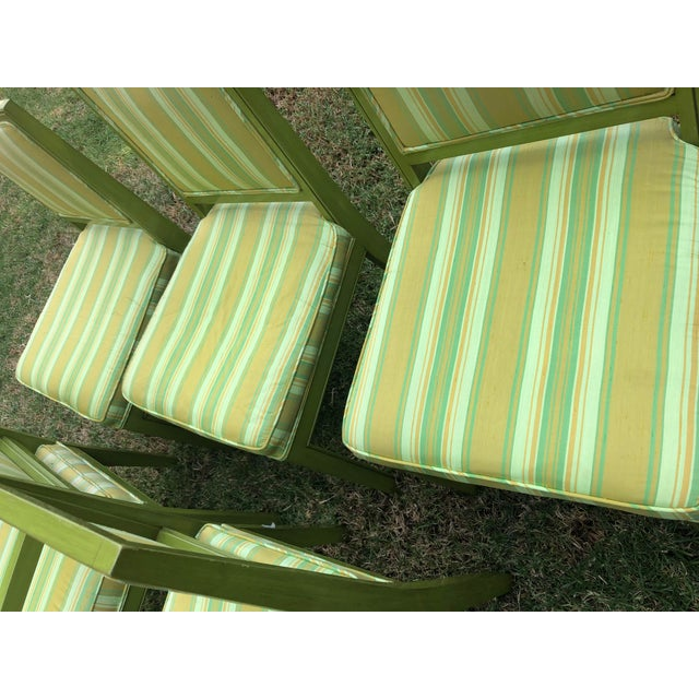 1970s Vintage Louis G Sherman Chairs - Set of 5 For Sale - Image 9 of 11