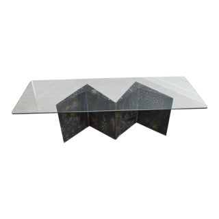 Paul Evans Zig Zag Coffee Table For Sale