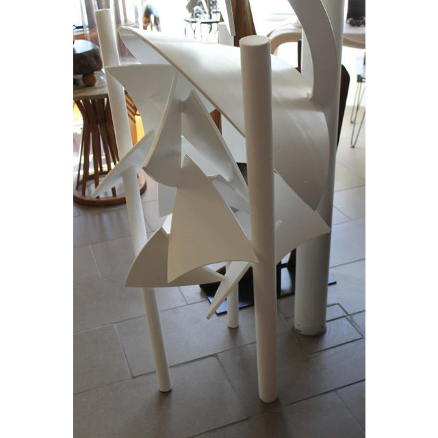 1979 Steel Abstract Sculpture For Sale In Palm Springs - Image 6 of 7