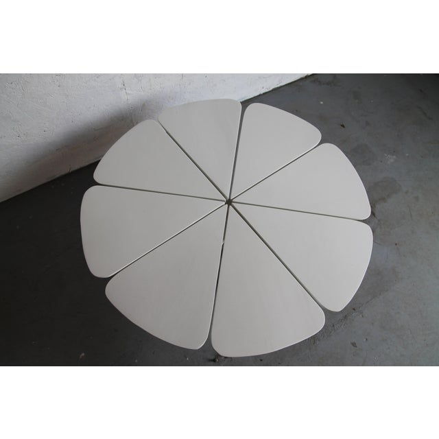 1960s Vintage Richard Schultz White Petal Coffee Table For Sale - Image 5 of 6