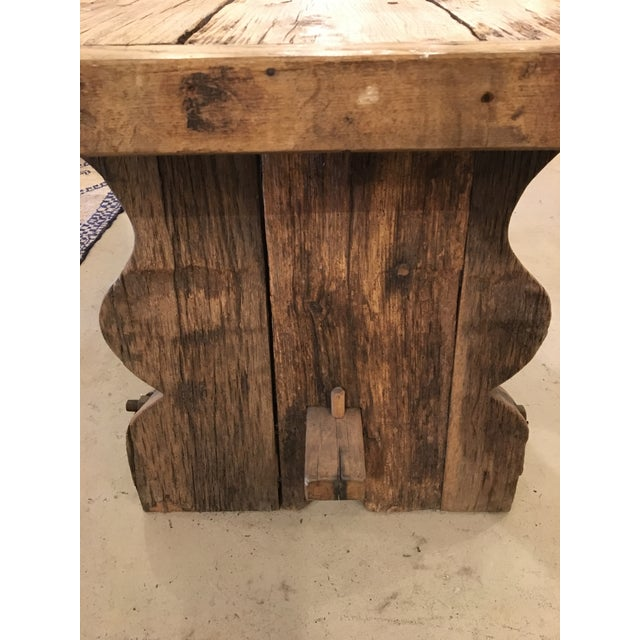 Primitive Spanish TABLE - Image 6 of 9