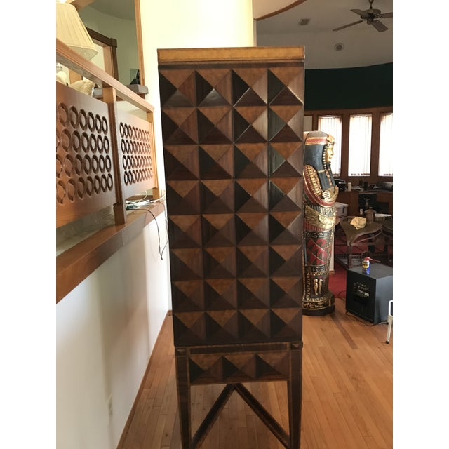 1990s Maitland Smith Armoire For Sale - Image 12 of 13