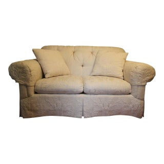 Vanguard Damask Loveseat For Sale