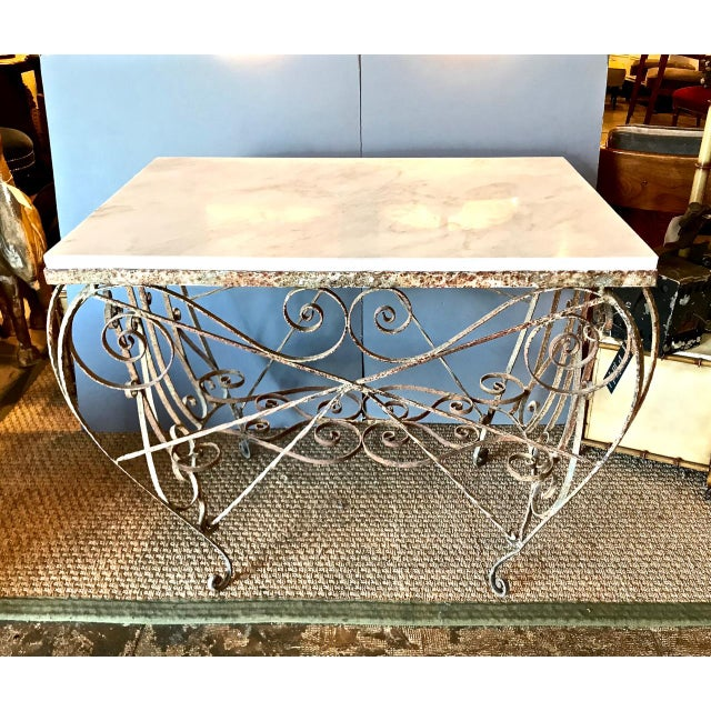 This is an unusual French Butcher's table that dates to the second half of the 19th century and retains its original...