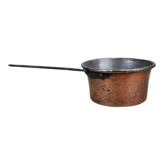 Vintage French Copper Saucepan