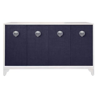 Florence Braodhurst Shanghai Raffia Credenza by Selamat Designs For Sale