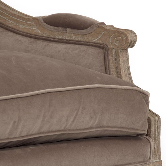 2020s Audley Sofa in Brown For Sale - Image 5 of 6