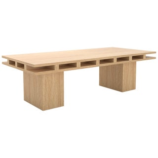 Contemporary 101 Coffee Table in Oak by Orphan Work, 2019 For Sale