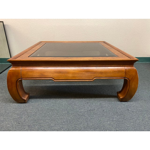 Thomasville Mystique Chinoiserie Cocktail Table For Sale - Image 9 of 9