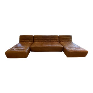 Timothy Oulton Shabby Sectional Sofa- 3 Pieces For Sale