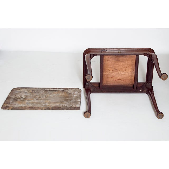 Early 18th Century Queen Anne Mahogany Side Table For Sale - Image 10 of 13