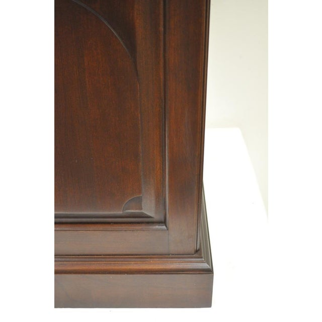 Harden Solid Cherry Octagonal Storage Cabinet End Table - Image 9 of 11