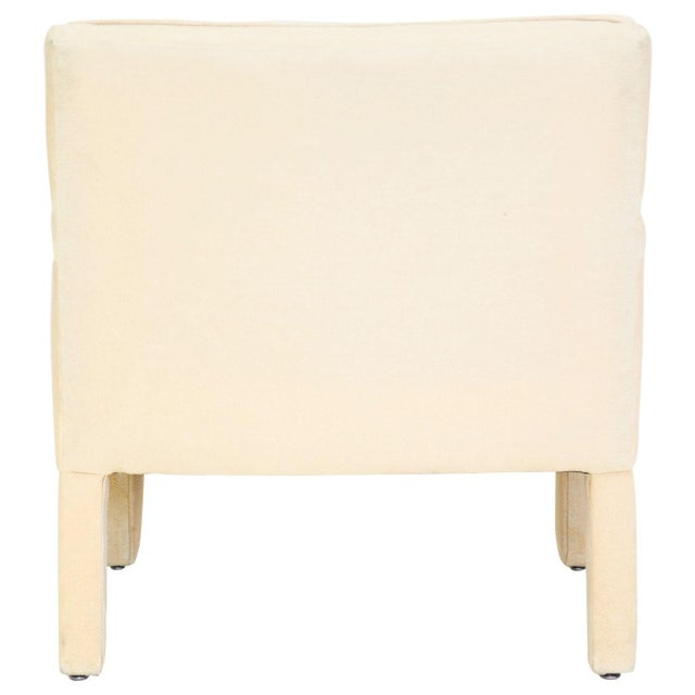 Milo Baughman Mid-Century Modern Parsons Armchair For Sale - Image 4 of 10