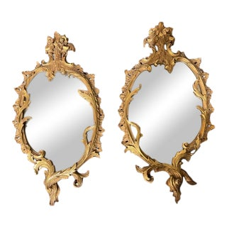 Antique Gold Gilt Mirrors From Harris Interior Arts - a Pair For Sale