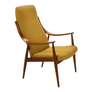 Peter Hvidt & Orla Mølgaard-Nielsen High Back Easy Chair For Sale