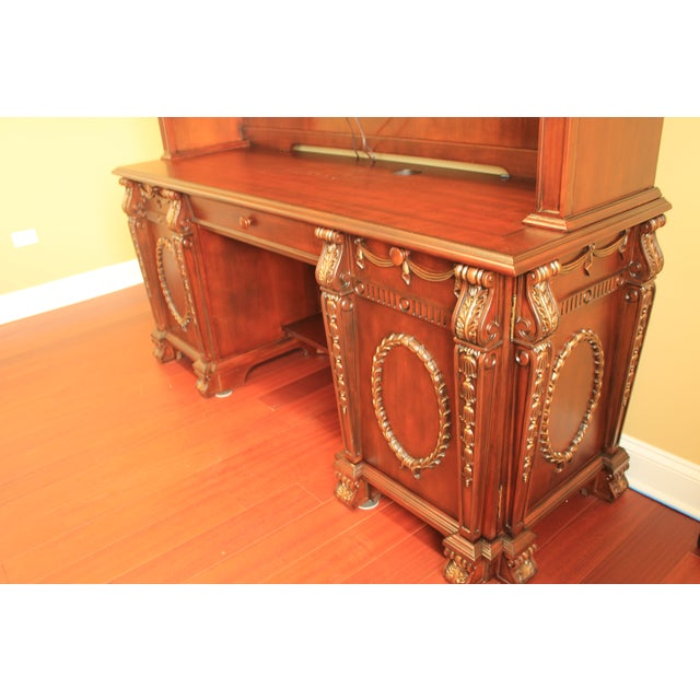 Buckingham Office Collection Credenza & Hutch - Image 4 of 5