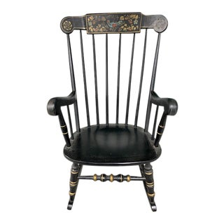 Antique Hitchcock Rocking Chair For Sale