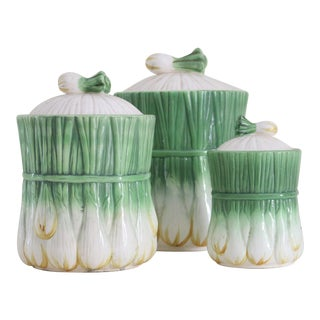 Georges Briard L'Oignon Canisters - Set of 3