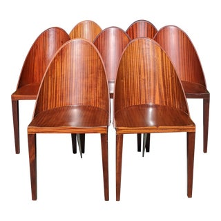 1980s Vintage Philippe Starck Chairs - Set of 7 For Sale