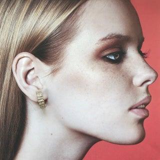 Perfect Crystal Hoop Earrings by Nina Ricci Preview