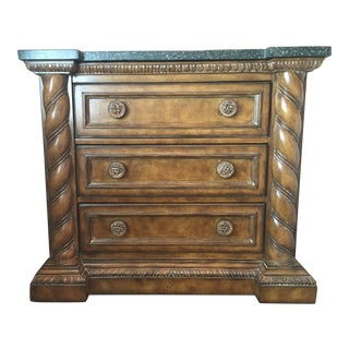 Contemporary Marble Top Console For Sale