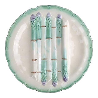 French Longchamp Asparagus Plate
