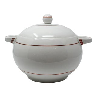 Art Deco Haas & Czjzez Covered Tureen For Sale