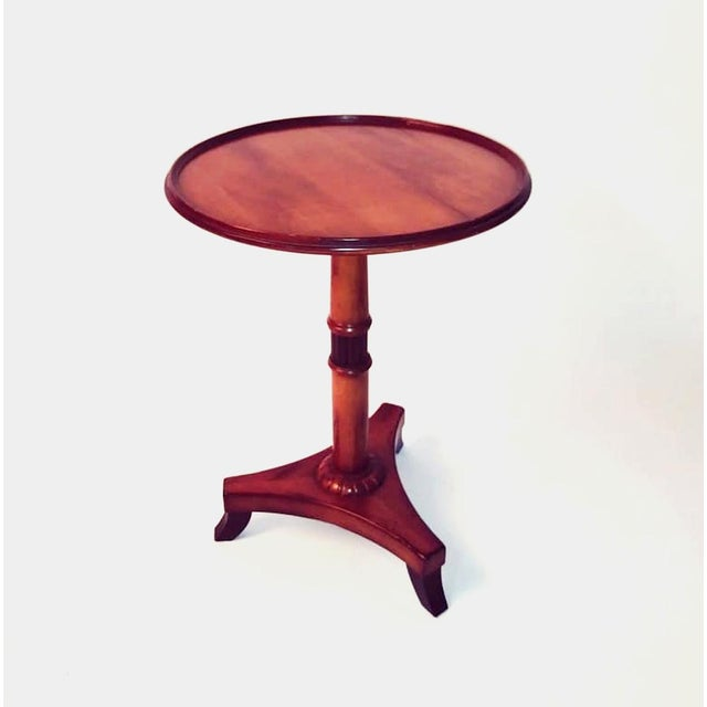 Baker Regency Style Occasional Table For Sale - Image 9 of 9