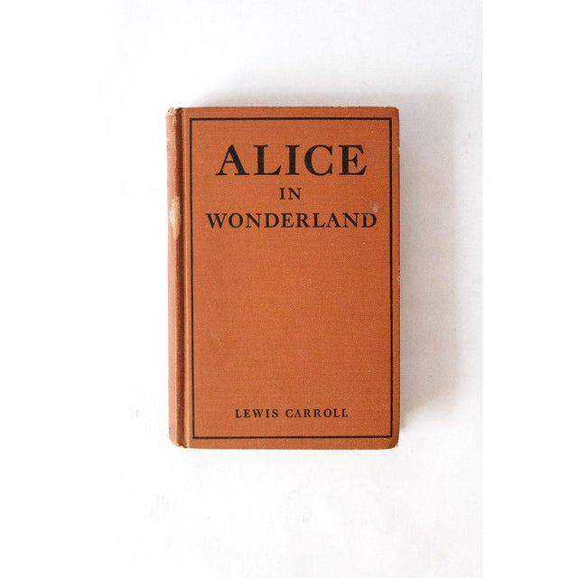 Fabric 1910 Antique Alice in Wonderland Book For Sale - Image 7 of 7