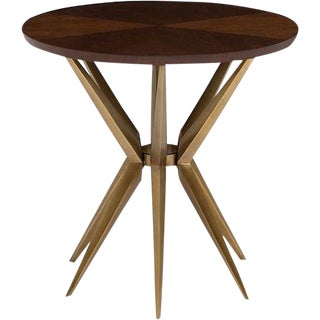 Contemporary Hickory Eden Side Table
