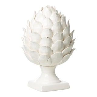 Vinci White Ceramic Artichoke