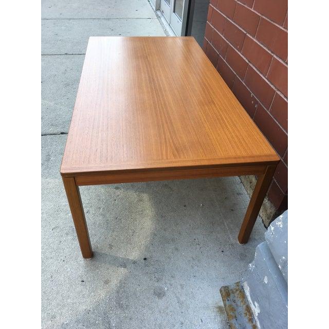 1960s Norwegian Mid-Century Teak Coffee Table For Sale - Image 5 of 8