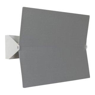 Large Charlotte Perriand 'Applique à Volet Pivotant Plié' Wall Light in Aluminum For Sale