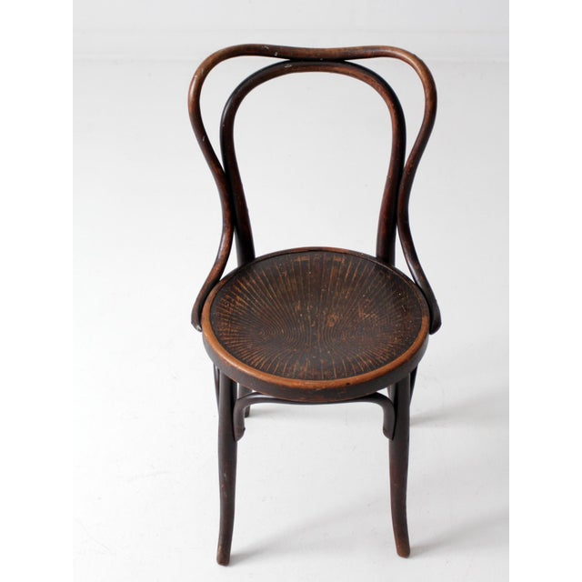 Late 19th Century Antique Jacob & Josef Kohn Bentwood Chair For Sale - Image 5 of 12