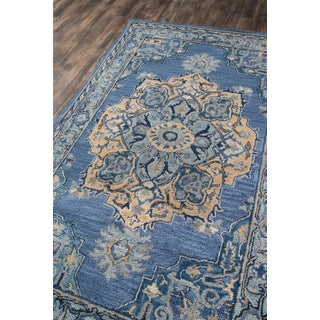 "Ibiza Denim Hand Tufted Area Rug 2'3"" X 7'10"" Runner Preview"