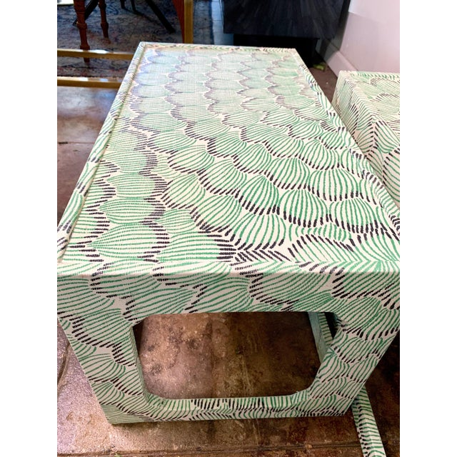 1970s Mid-Century Modern Celerie Kemble Nesting Tables - a Pair For Sale - Image 4 of 9