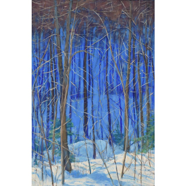 "Stephen Remick Contemporary Painting ""Up and Into the Mountains of Vermont"" For Sale - Image 9 of 13"