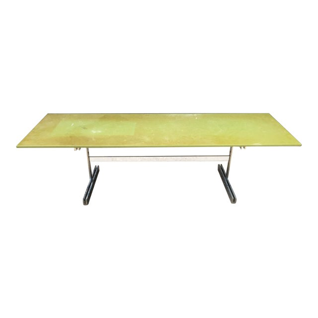 Large Coffee/Console Table Attributed to John Vesey For Sale