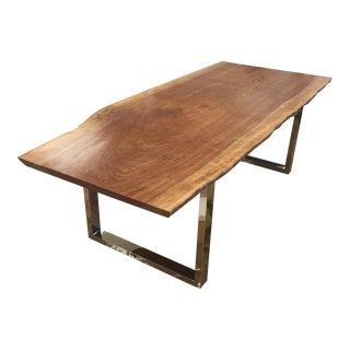 Carina Live Edge Dining Table