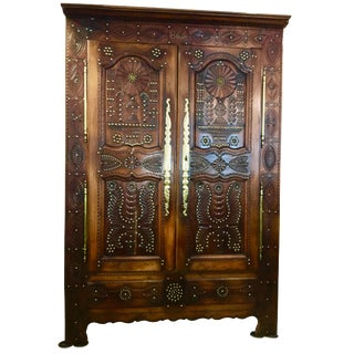 19th Century French Armoire For Sale