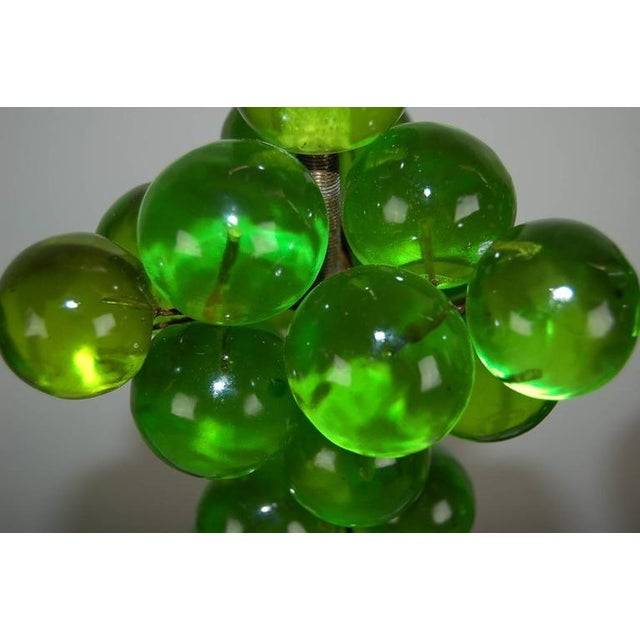 Green Vintage Bubble Table Lamps by Silvano Pantani, 1966 Lime Green For Sale - Image 8 of 10
