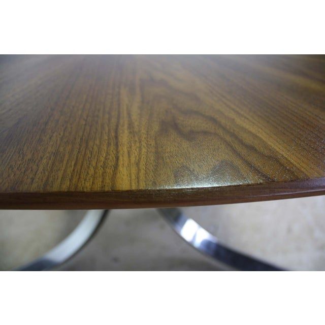 Borsani Dining Table Starburst Wood Top - 5 Avail. For Sale In Chicago - Image 6 of 9