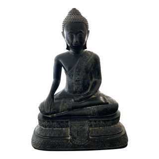 1958 Vintage Buddha Statue For Sale