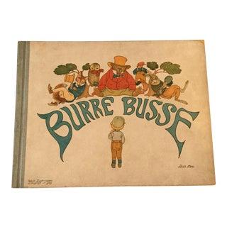 Antique Illustrated Swedish Children's Book