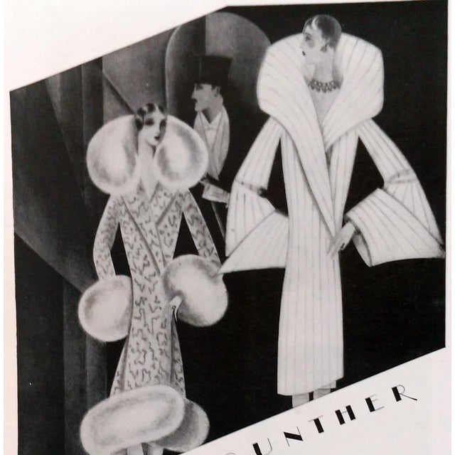 "1928 ""Furs by Gunther"" Advertisments - Pair - Image 5 of 10"