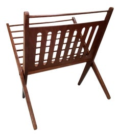 Image of Teak Magazine Racks