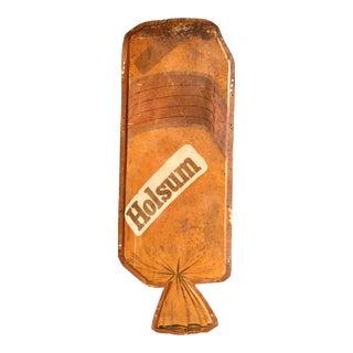 1950s Original Holsum Bread Embossed Sign