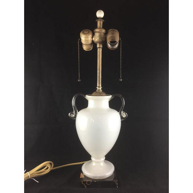 Bohemian Kralik Amphora Urn Table Lamp - Image 11 of 11